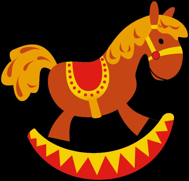 Free Toy Horse (CMYK)