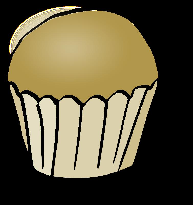 Free Clipart: Muffin | rubejar