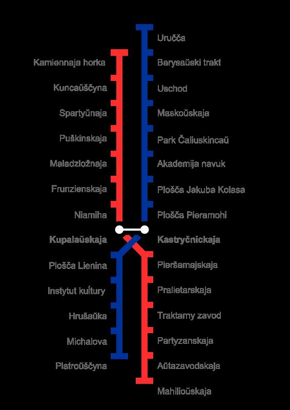 Free Minsk Metro Map