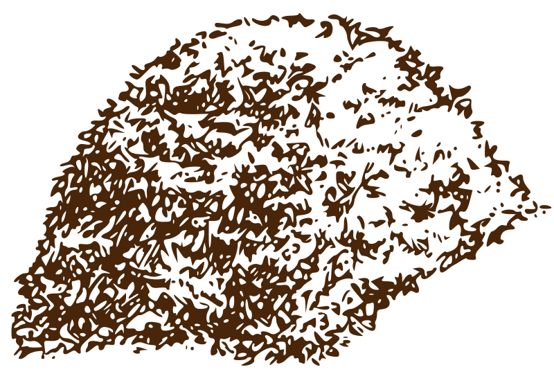 Free Clipart: Compost pile   lmignot