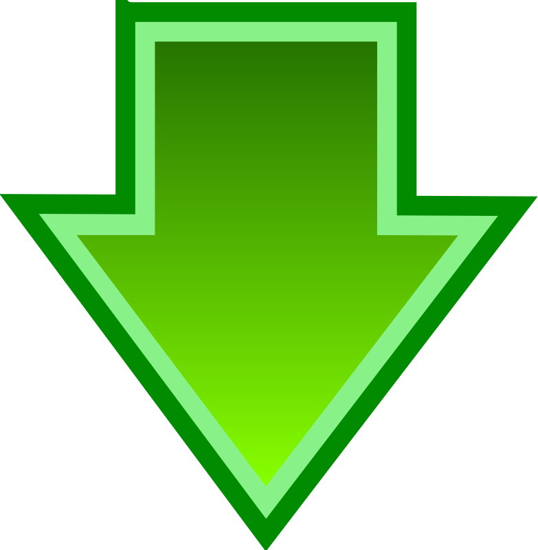 Free Simple Green Download Arrow