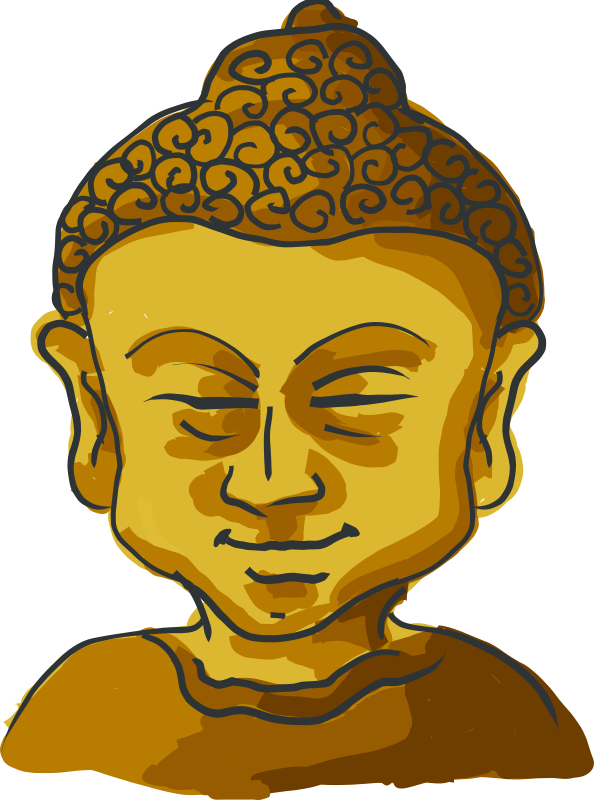 Free Buddha's head