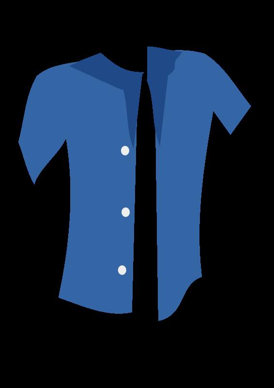 Free blue shirt