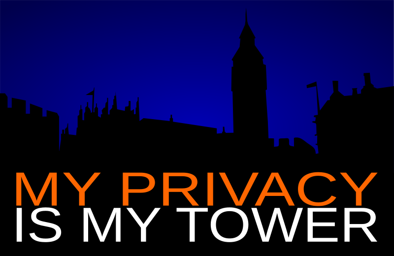 Free My privacy is my tower