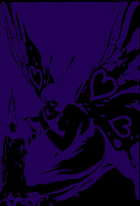 Free Butterfly Woman