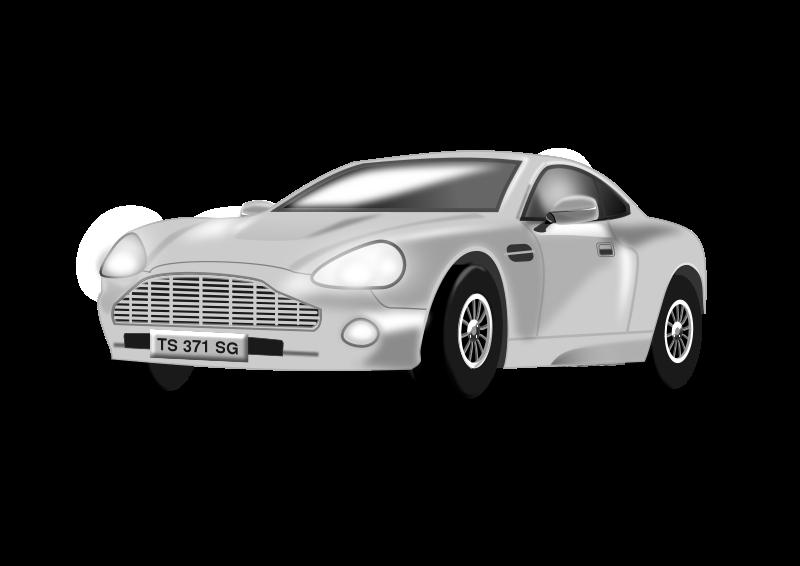 Free Silvery Car