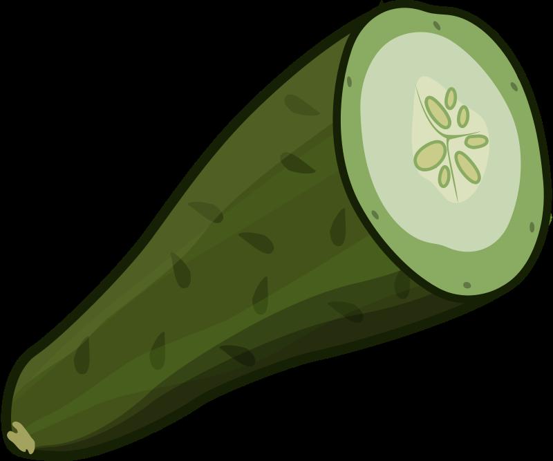 Free cut cucumber
