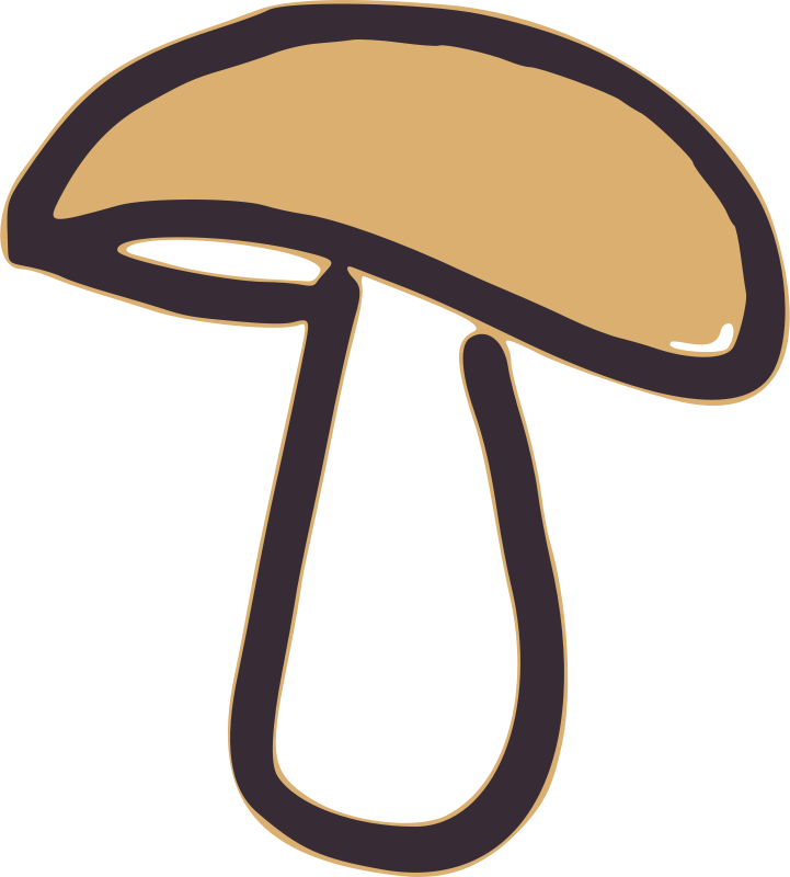 Free Clipart: Mushroom | global quiz