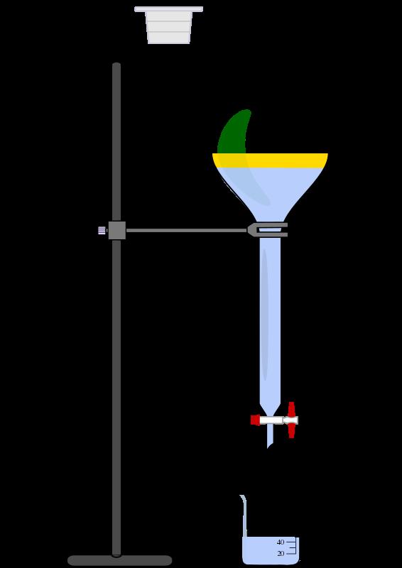 Free separatory funnel