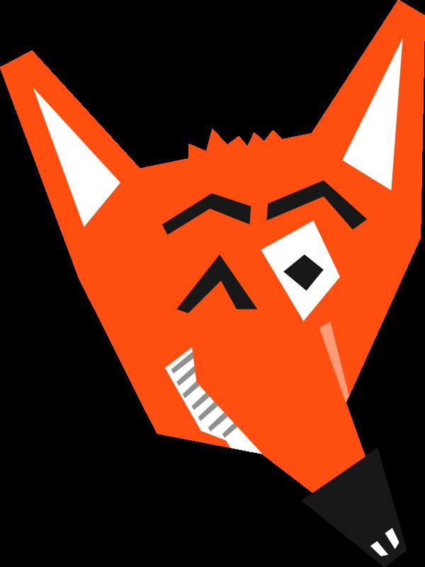 Free Smart Fox Face