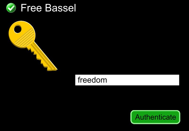 Free Free Bassel Dialog Box