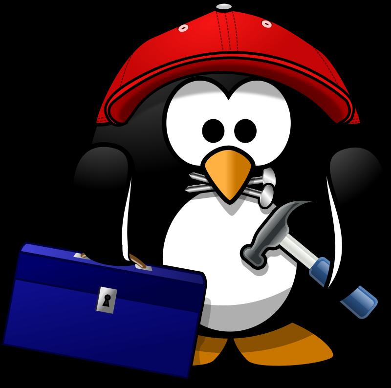 Free Craftsman penguin
