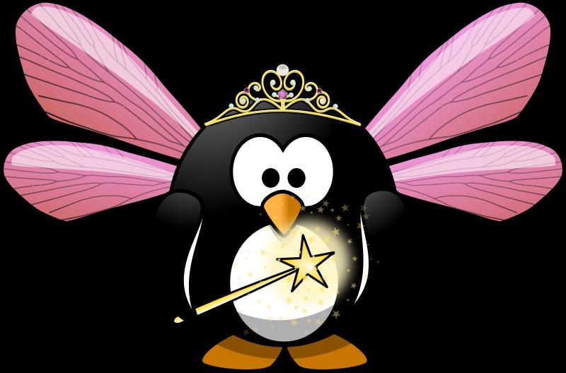 Free Clipart: Fairy penguin | Moini