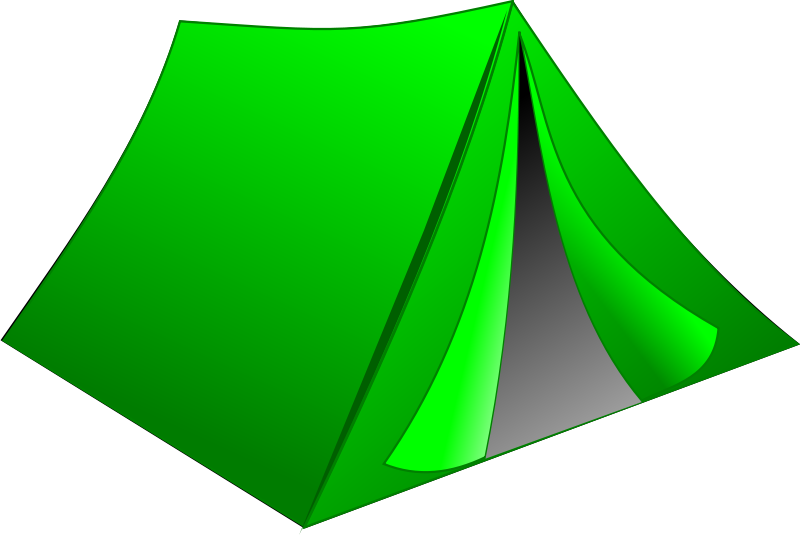 Free Green Tent