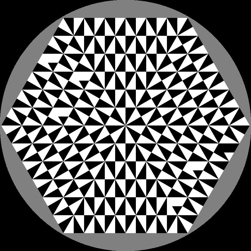 Free complexahexagon