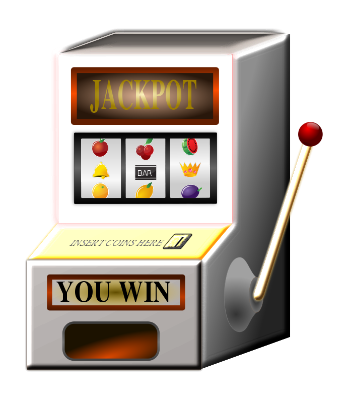 Free Clipart: Slot Machine | piotrsy
