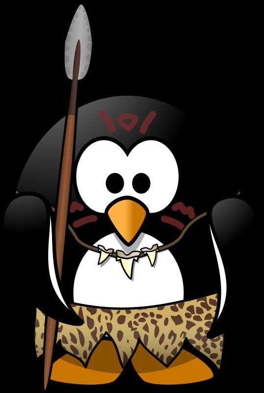 Free Clipart: Wild penguin | Moini