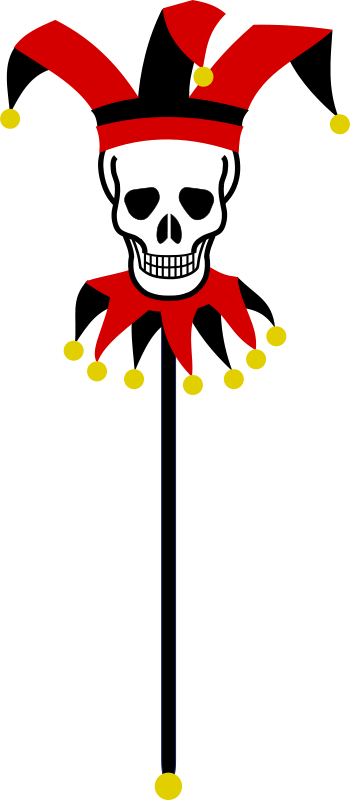 Free Skull Marotte