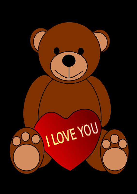 Free Valentine's Day Teddy Bear
