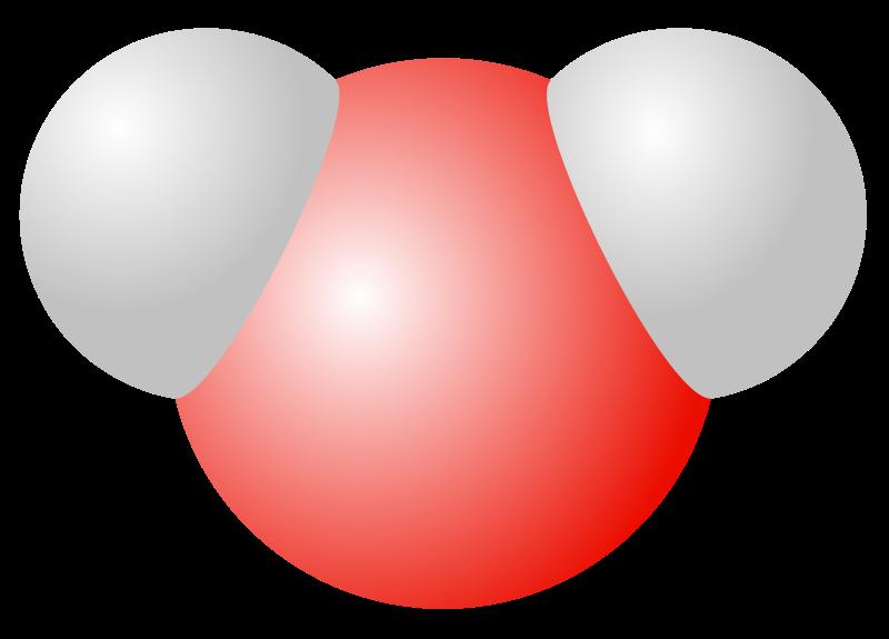 Free Water molecule
