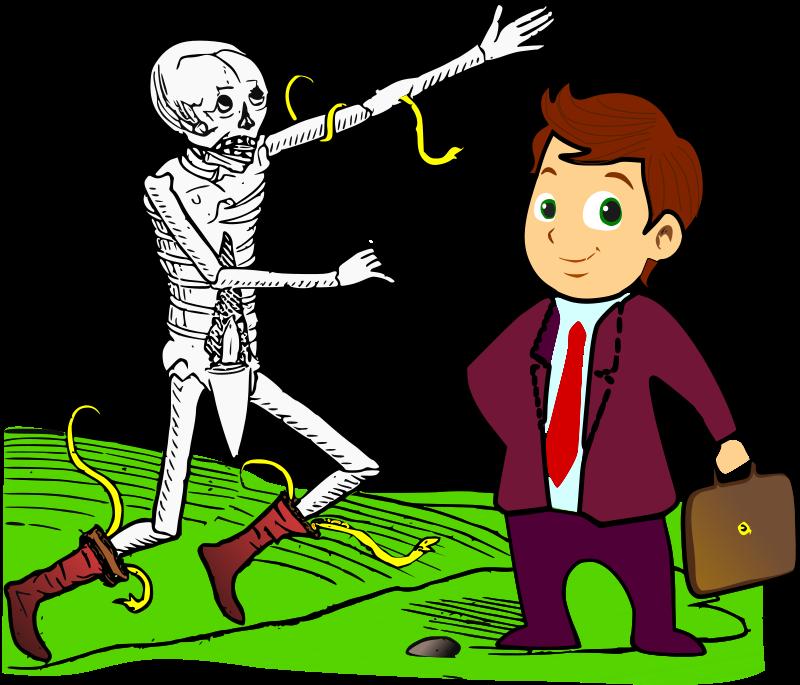 Free Clipart: Dance macabre 3 | amilo