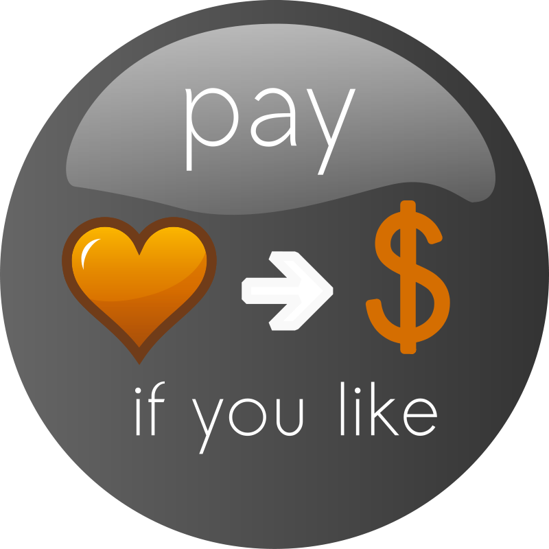 Free Pay If you Like Button 2