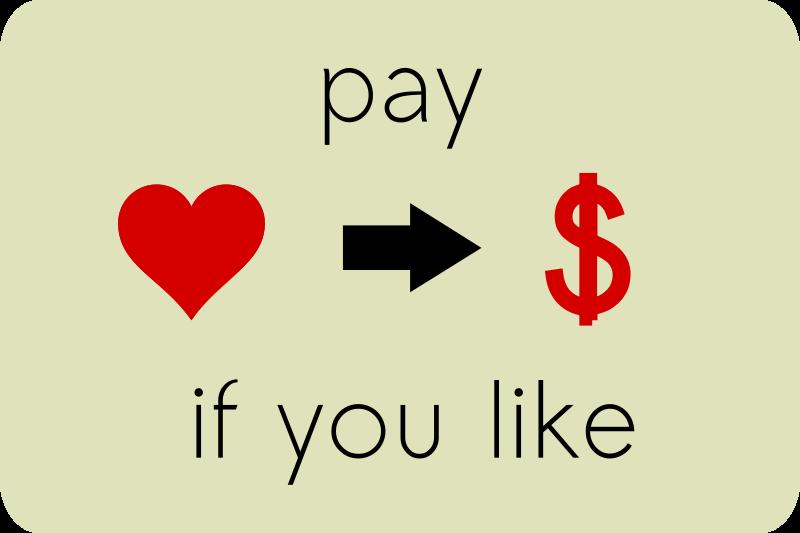 Free Pay if you like