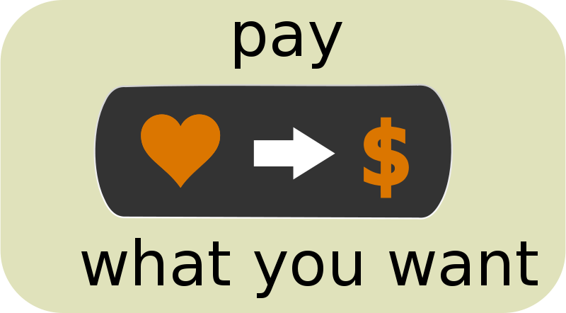 Free Pay What You Want Button1