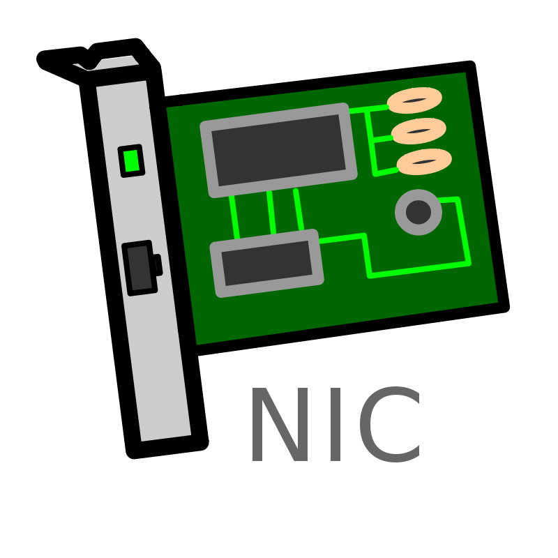 Free Network Interface Card Labelled