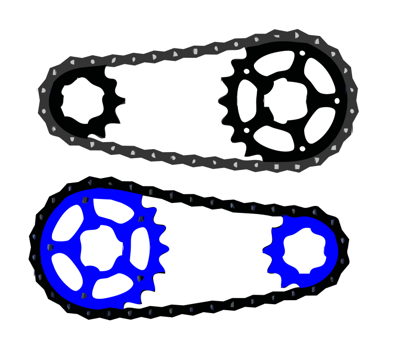 Free Bicycle chain vector