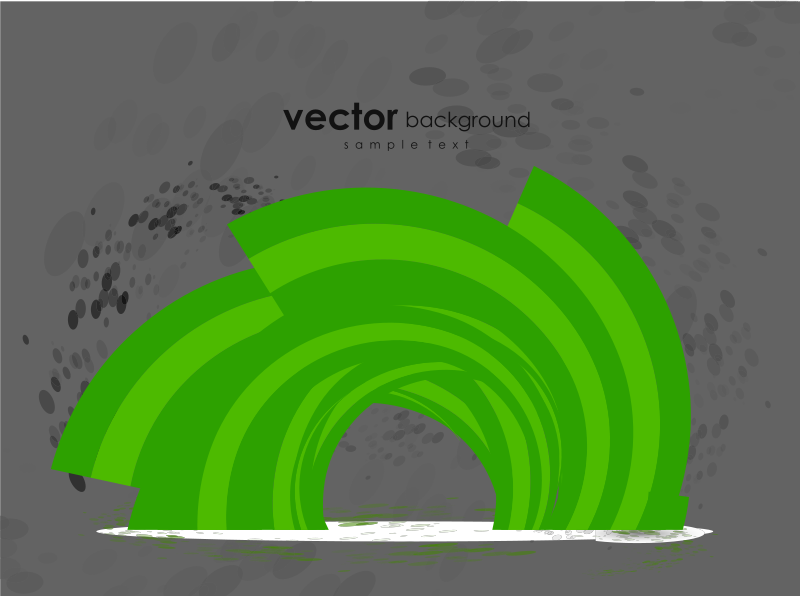 Free green abstract vector background