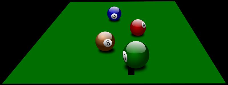 Free billiard balls