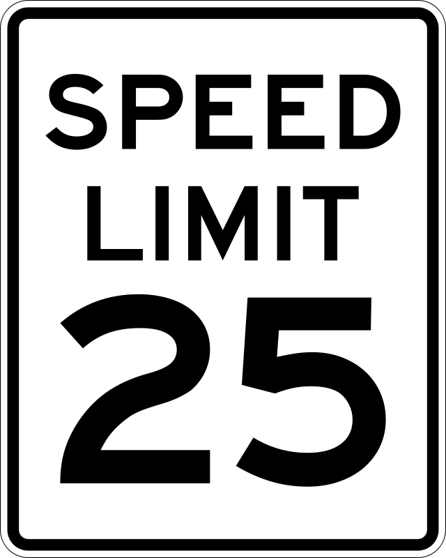Free Speed Limit 25