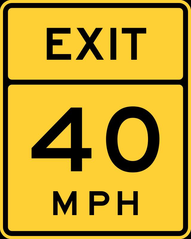 Free Exit Speed 40