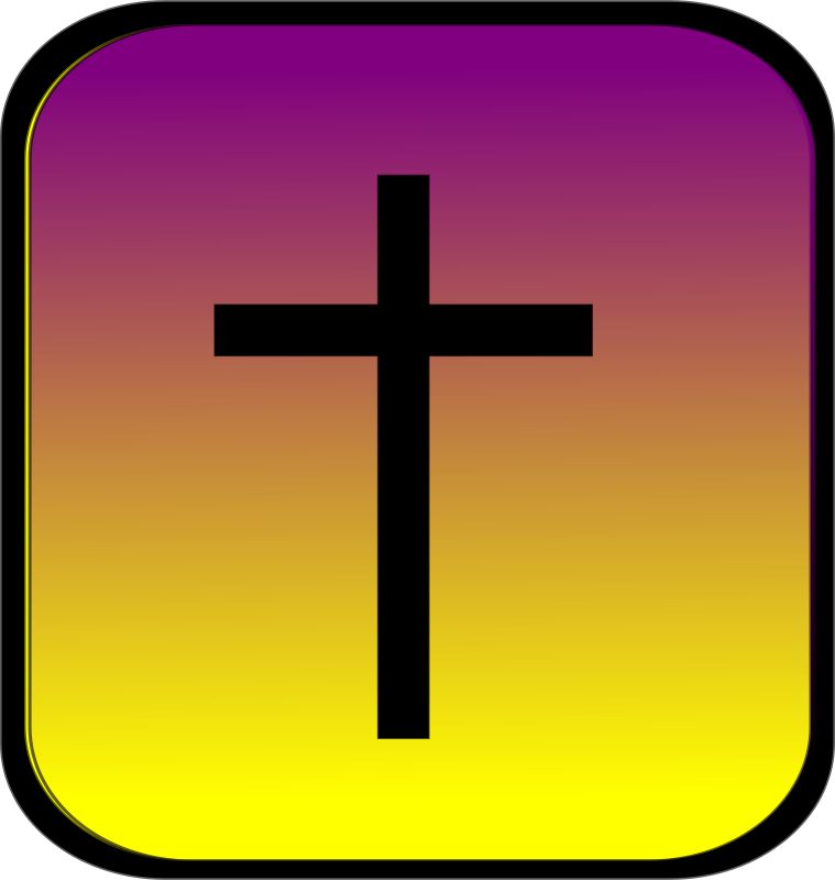 Free Cross Button