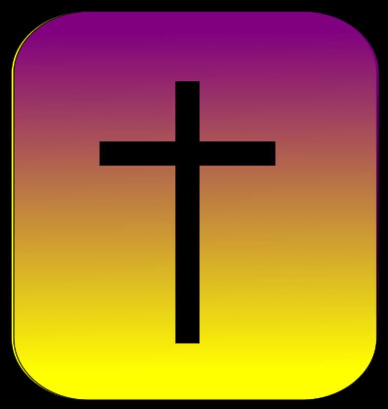 Free Clipart: Cross Button | wordtoall.org