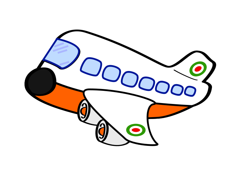 Free funny airplane one