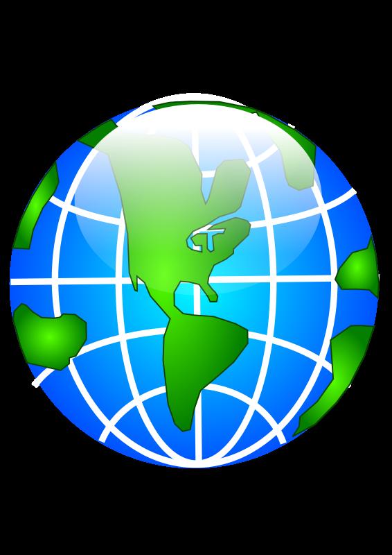 Free Glossy Globe