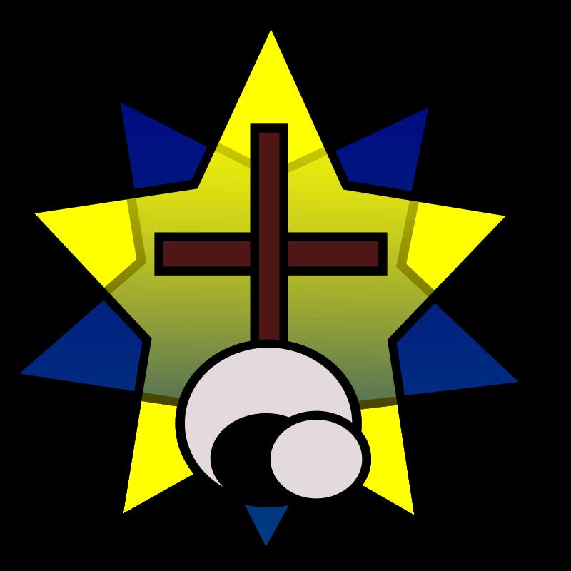 Free Clipart: Symbolism - Star, Cross, Empty Tomb | wordtoall.org