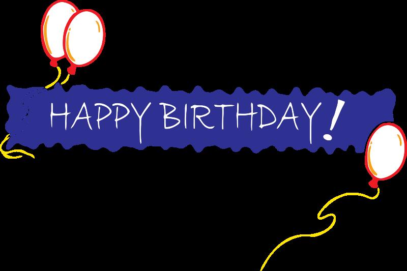 Free Birthday Banner 5