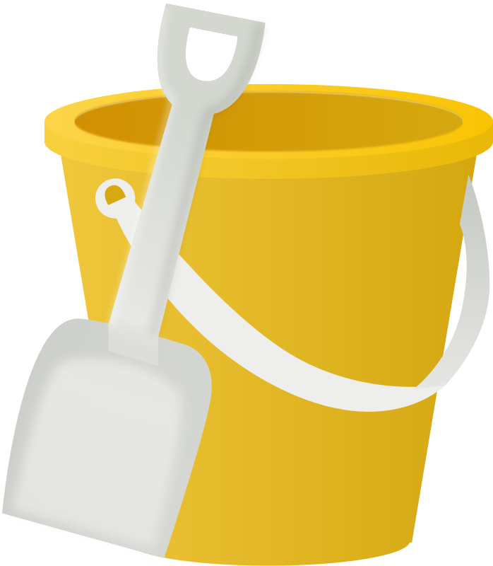 Free Clipart: Bucket | Mirek2