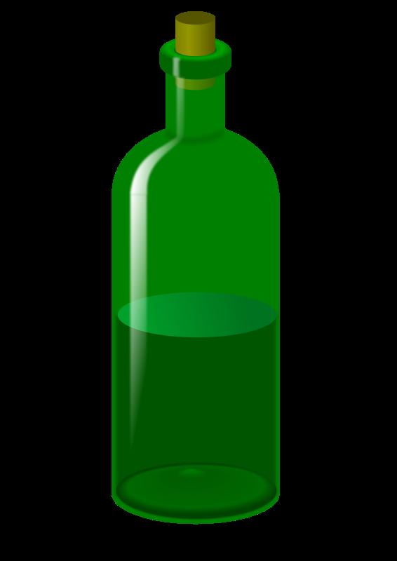 Free wine bottle