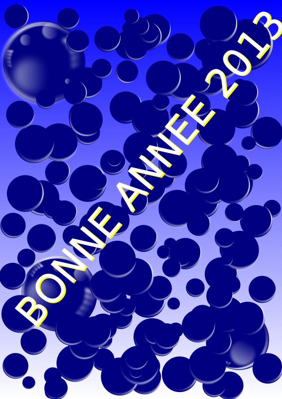 Free Clipart: BONNE ANNEE 2013 | defaz36