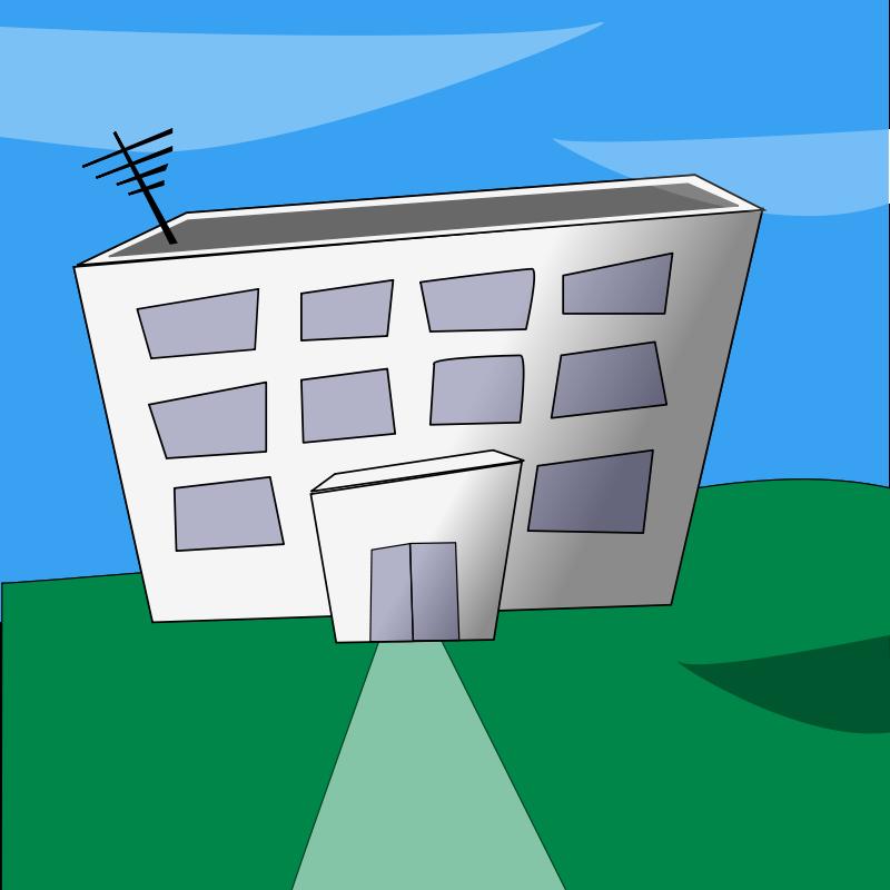 Free Cartoon building