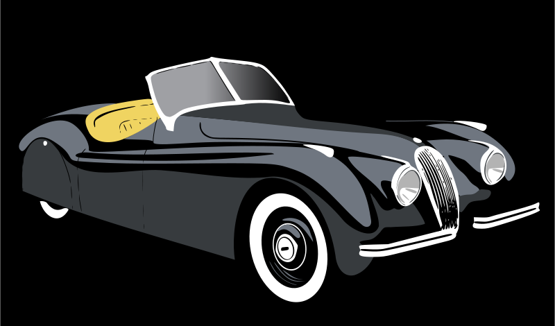 Free Clipart: Xk120 | madelvic