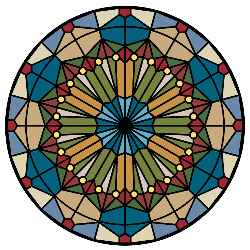 Free Rose Window