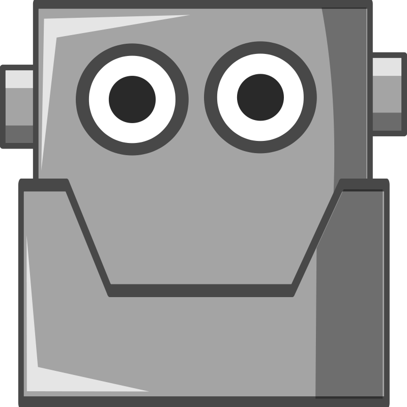 Free Cute Robot Head (Same Eyes)