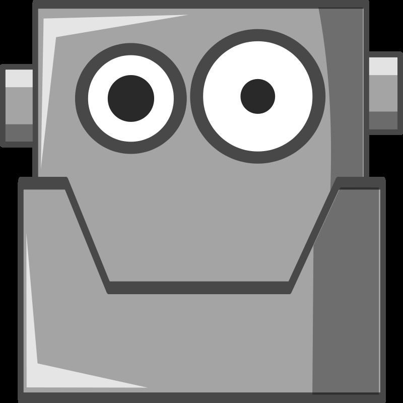 Free Cute Robot Head