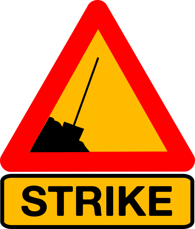 Free Caution strike