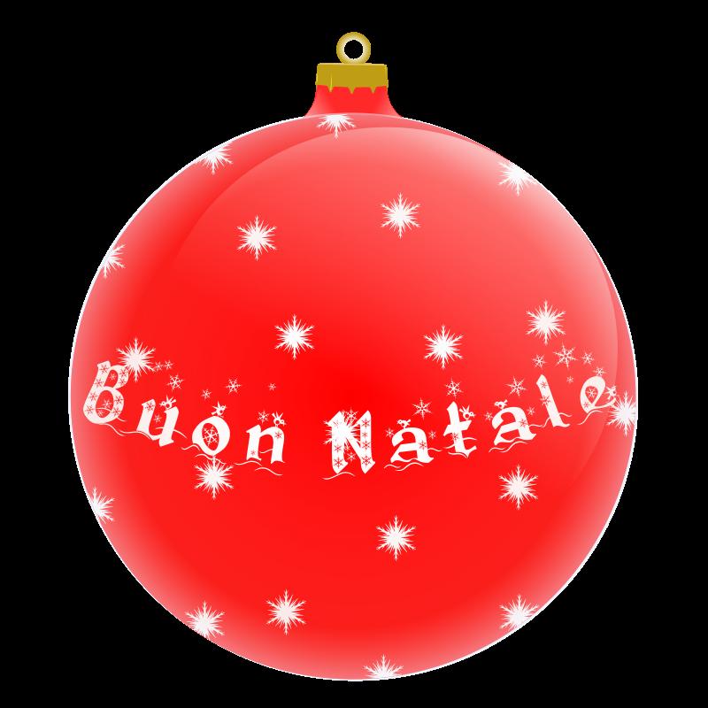 Free Palla Buon Natale
